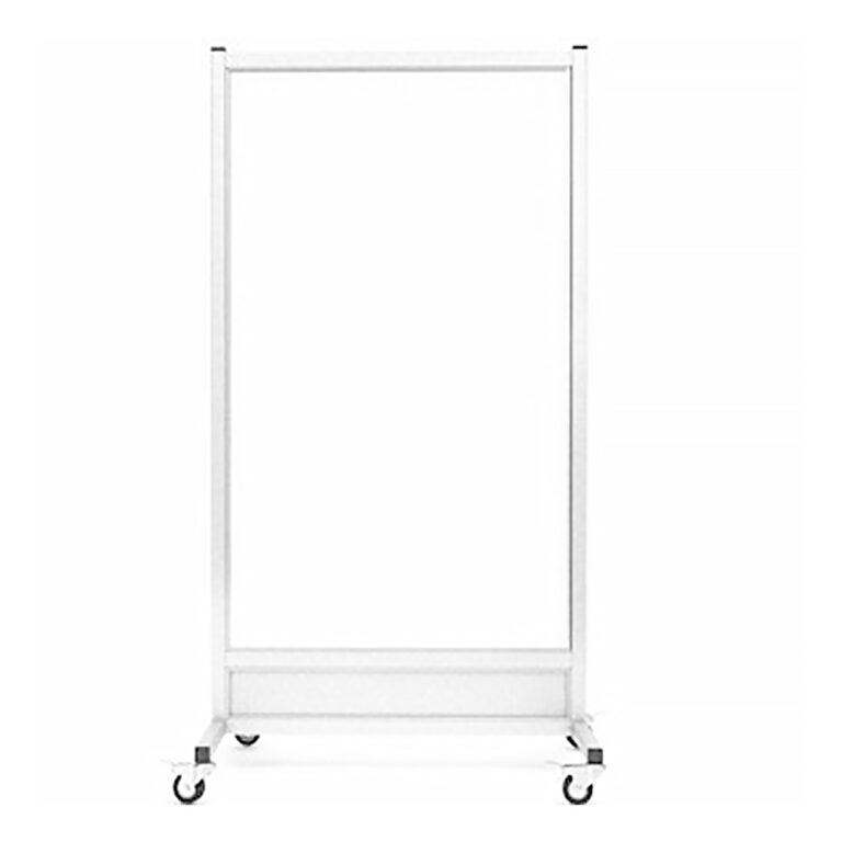 Mobile-Leaded Barrier-3060-Front with Mobile Casters