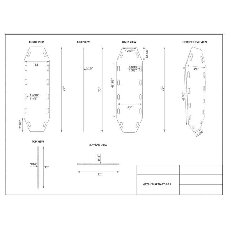 Static Treated Aqua Board in Aqua Dimension Sheet