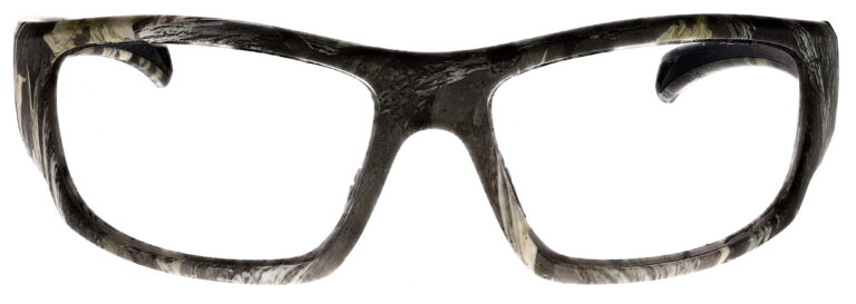 Phillips Model TP251 Radiation Glasses in Camo, Front Angle