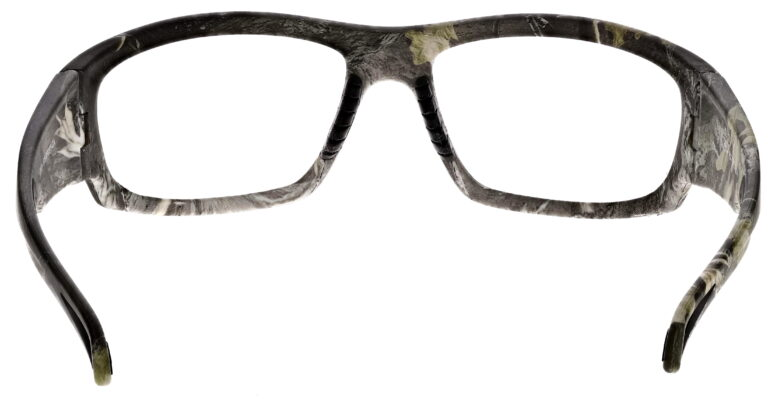 Phillips Model TP251 Radiation Glasses in Camo, Rear Angle