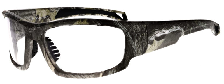 Phillips Model TP251 Radiation Glasses in Camo, Side Left Angle