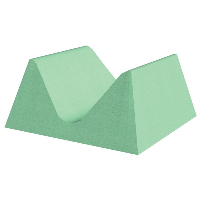 Green Stealth Cote Adult Head Holder for x-Rays