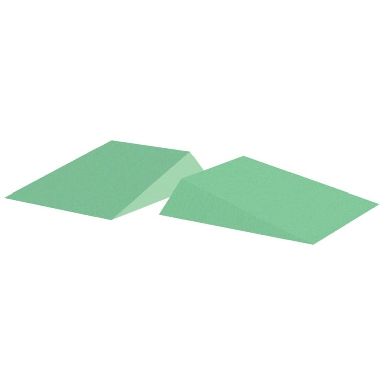 Green Stealth Cote 12 degree wedge set for x-Rays