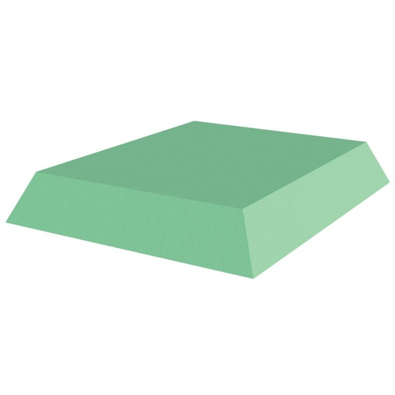 Green Stealth Cote 3 rectangle for x-Rays