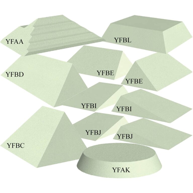 Non-Coated Stealth-Core Clinic Kit B Foam Sponges, Labeled