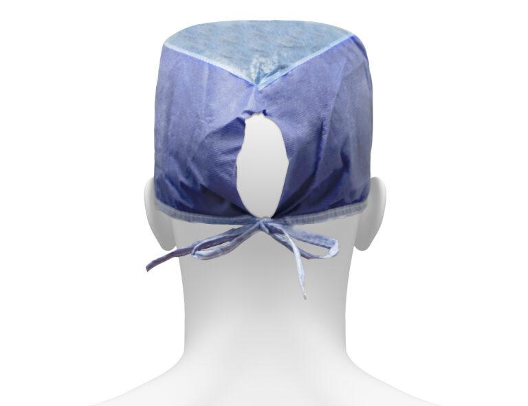 Sorbx Blue Cap, Rear Angle