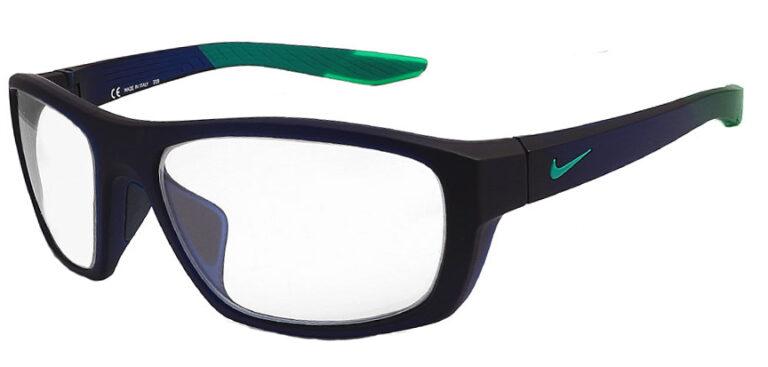 Nike Brazen Boost M Radiation Glasses in Matte Dark Obsidian, Angled to the Side Left