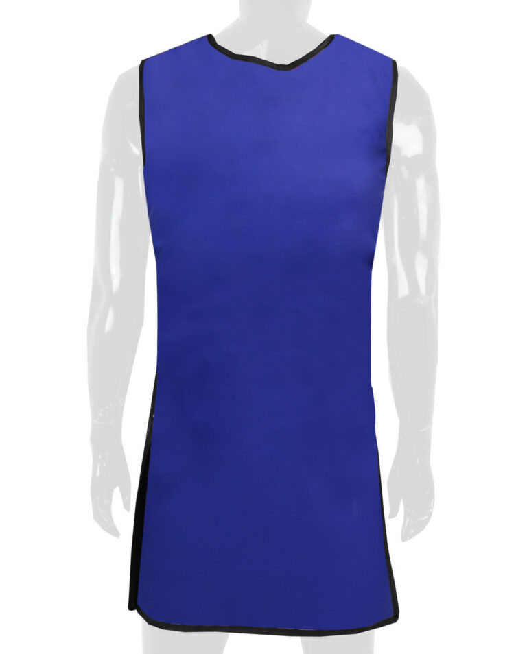 Attenutech One Piece Wrap Around Apron, Angled to the Rear