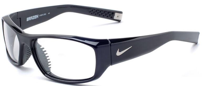 Radiation Glasses Nike Brazen in Black Frame Side Left Angle