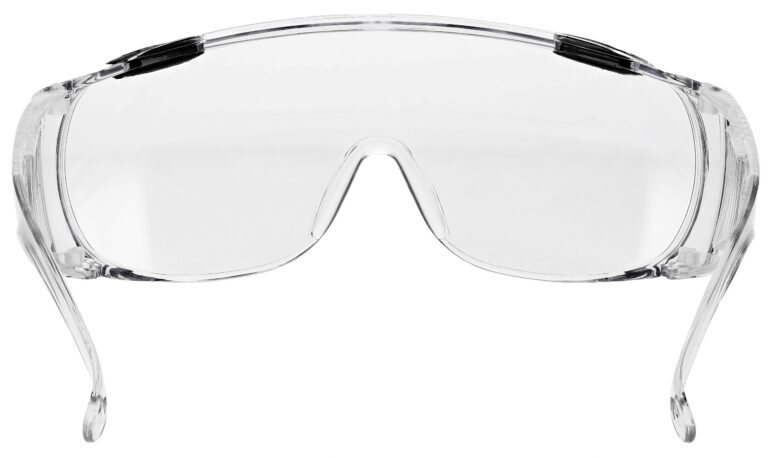 SP16 Safety Glasses in Clear Frame Rear Angle