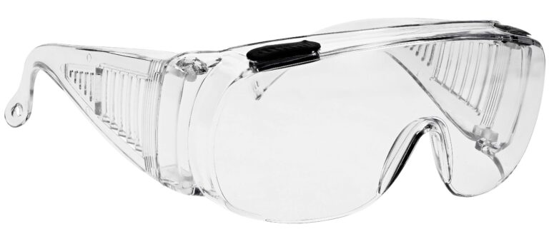 SP16 Safety Glasses in Clear Frame Side Right Angle