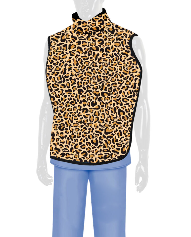 Steritouch Dental Radiation Lead Apron Leopard