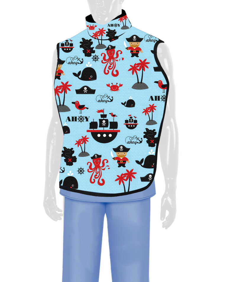 Steritouch Dental Radiation Lead Apron Pirate
