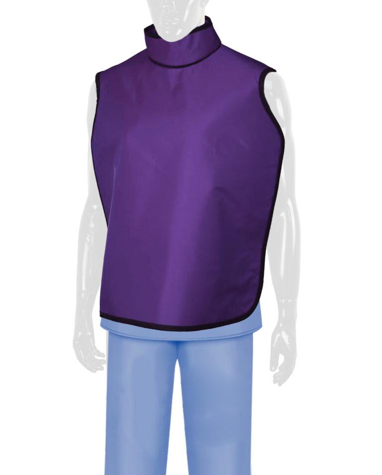 QuickShip Dental Radiation Lead Apron Purple